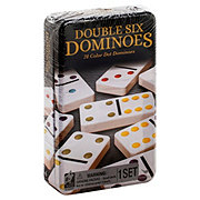 Cardinal Industries Double 6 Dominoes Game