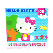 Cardinal Industries Hello Kitty Lenticular Puzzle