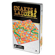 Cardinal Industries Snakes And Ladders Game Tin