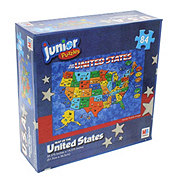 Cardinal Industries USA World Map Puzzle