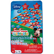 Cardinal Mickey Mouse Clubhouse Checkers & Tic Tac Toe