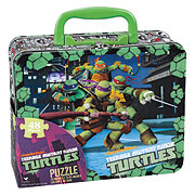 Cardinal Teenage Mutant Ninja Turtle Puzzle In Mini Lunchbox
