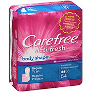 Carefree Acti-Fresh Body Shape Regular To Go Fresh Scent Pantiliners