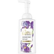 Caress Botanicals Midnight Iris and Vanilla Bean Shower Foam