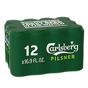 Carlsberg Beer 16 oz Cans