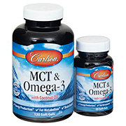 Carlson MCT And Omega 3 With Coconut Oil