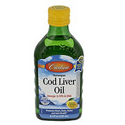 Carlson Norwegian Cod Liver Oil, Lemon Flavor