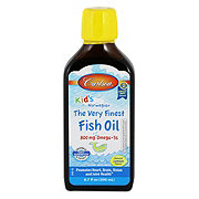 Carlson Very Finest Omega 3 Fish Oil Liquid Lemon For Kids
