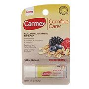 Carmex Comfort Care Lip Balm, Mixed Berry Flavor