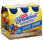Carnation Breakfast Essentials Light Start Cafe Mocha Drink