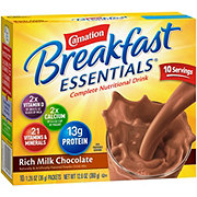 Carnation Breakfast Essentials Rich Milk Chocolate Complete Nutrition Drink