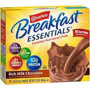 Carnation Breakfast Essentials Rich Milk Chocolate Complete Nutrition Drink