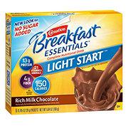 Carnation Breakfast Essentials Rich Milk Chocolate Complete Nutritional Drink