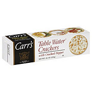 Carr's Cracked Pepper Table Water Crackers