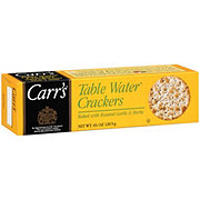 Carr's Roasted Garlic and Herbs Table Crackers