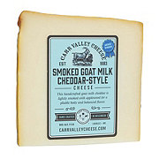 Carr Valley Goat Cheddar Applewood Smoked