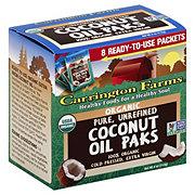 Carrington Farms Coconut Oil Packets