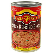 Casa Fiesta Medium Spicy Refried Beans with Jalapeno Pieces