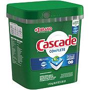 Cascade Complete ActionPacs Fresh Scent Dishwasher Detergent
