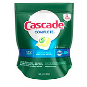 Cascade Complete ActionPacs Lemon Burst Dishwasher Detergent