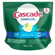 Cascade Complete ActionPacs Lemon Scented Dishwasher Detergent