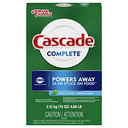 Cascade Complete Fresh Scent Dishwasher Detergent Powder