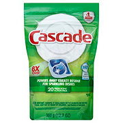 Cascade Fresh Scent ActionPacs Dishwasher Detergent