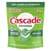 Cascade  Original Actionpacs With Dawn Fresh Scent