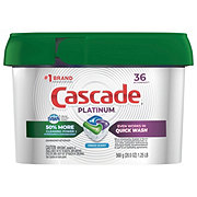 Cascade Platinum Actionpacs Fresh Scent Dishwashing Detergent