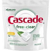 Cascade Pure Essentials Actionpacs Lemon Essence Dishwasher Detergent
