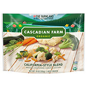 Cascadian Farm Organic California-Style Blend Broccoli, Cauliflower Carrots, and Zucchini