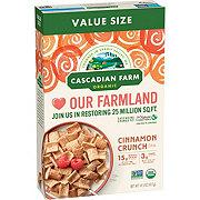 Cascadian Farm Organic Cinnamon Crunch Cereal Family Size