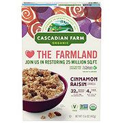 Cascadian Farm Organic Cinnamon Raisin Granola