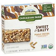 Cascadian Farm Organic Granola Bars, Peanut Pretzel
