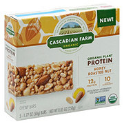 Cascadian Farm Organic Protein Bars Honey Roasted Nut