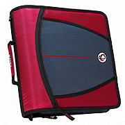 Case-It The Mighty Zip Tab 3 in Binder, Assorted Colors