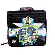 """Case-It The Universal 2"""" 3-Ring Zipper Binder, Assorted Colors"""