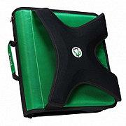 Case-It The X-Hugger 3 Ring Zipper Binder, Assorted Colors