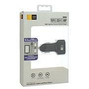 Case Logic Triple 4.1 AMP Car Charger USB in Black