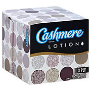 Cashmere 3 Ply Facial Tissue with Lotion, Designs May Vary