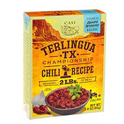 Casi Terlingua TX Championship Chili Recipe Mix