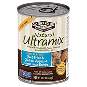 Castor & Pollux Natural Ultramix Beef Tripe, Chicken, Apples & Green Peas Adult Dog Food