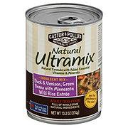 Castor & Pollux Natural Ultramix Duck Venison, Green Beans Minnesota Wild Rice Adult Dog Food