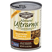 Castor & Pollux Natural Ultramix Minced Chicken & Bacon with Fresh Tomatoes Dog Food, Adult