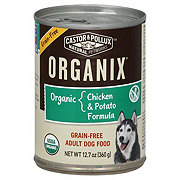 Castor & Pollux Organix Adult Chicken And Potato Formula Dog Food