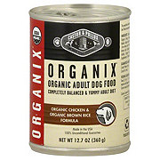 Castor & Pollux Organix Adult Organic Chicken And Organic Brown Rice Formula Dog Food