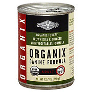 Castor & Pollux Organix Adult Organic Turkey Brown Rice And Chicken With Vegetables Canine Formula