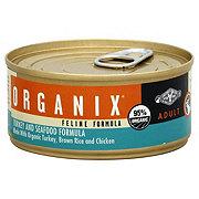 Castor & Pollux Organix Adult Turkey and Seafood Feline Formula
