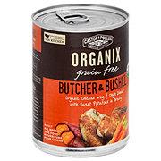 Castor & Pollux Organix Butcher & Bushel Chicken Wing & Thigh Dinner Adult Dog Food