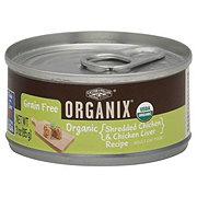 Castor & Pollux Organix Shredded Chicken & Liver Cat Food